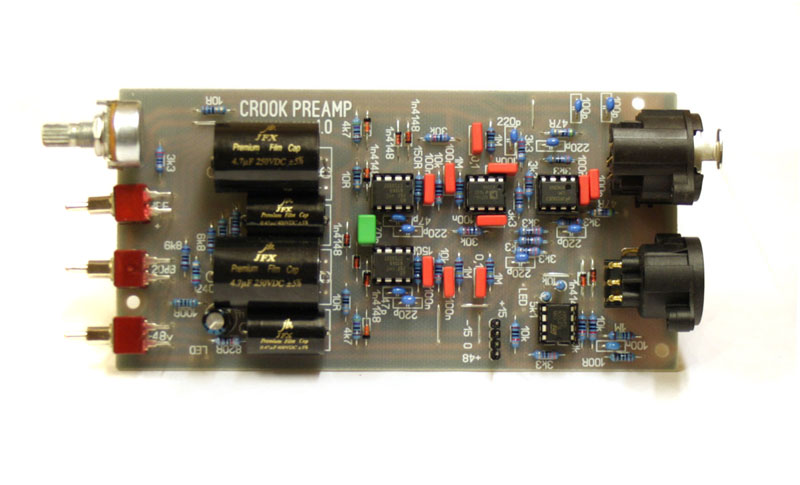 PiTone Systems AD797 Mic preamp