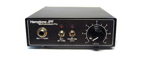 Scott Hampton Mic/Instr Preamp